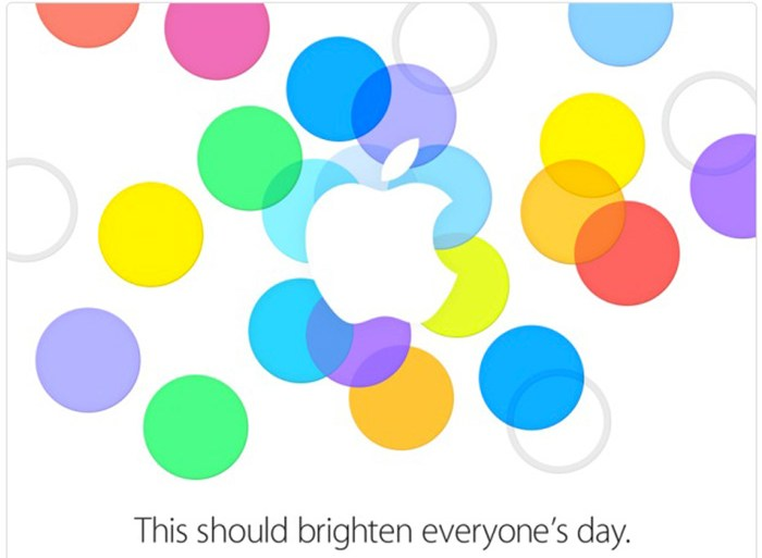 Apple bites plastic; Announces iPhone 5C in five colors