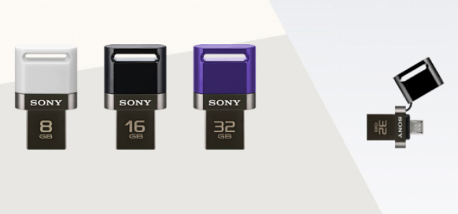 Sony launches dual-USB pendrives for smartphones and tablets