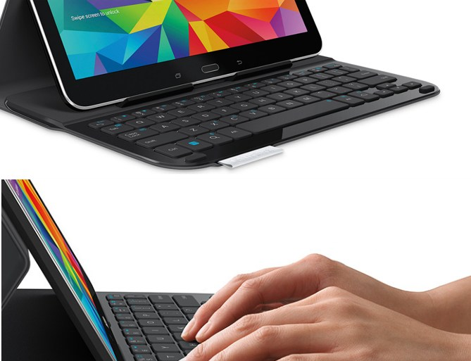 Logitech Ultrathin Keyboard Folio announced for Samsung Galaxy Tab 4