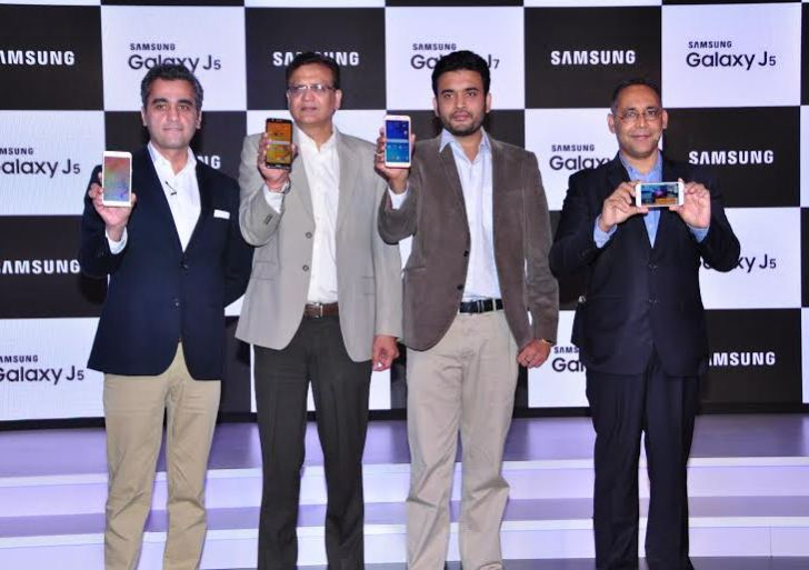 Samsung Galaxy J5, Galaxy J7 launched in India; Price starts at Rs 11,999