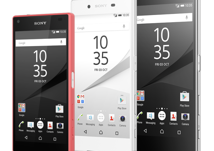 Sony showcases the Z5 family – the Xperia Z5, Xperia Z5 compact and Xperia Z5 Premium
