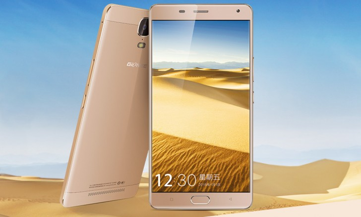 Gionee Marathon M5 Plus with 5,020mAh battery, fingerprint scanner launched