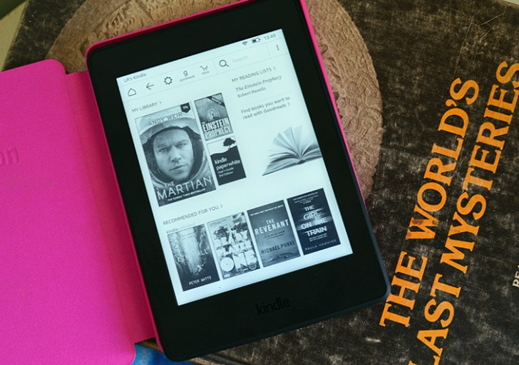 My experience when I turned paperless with Kindle Paperwhite