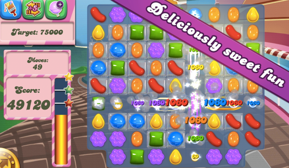 Candy Crush Saga For pc free download with bluestacks