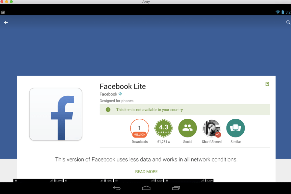 Facebook Lite for PC 4