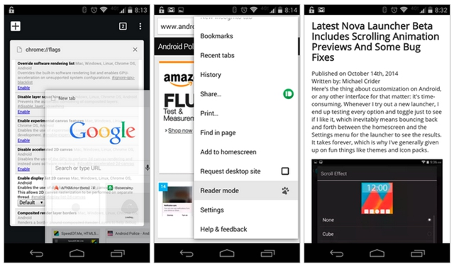 google-android-reader-mode