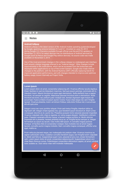 Material Notes APK 2