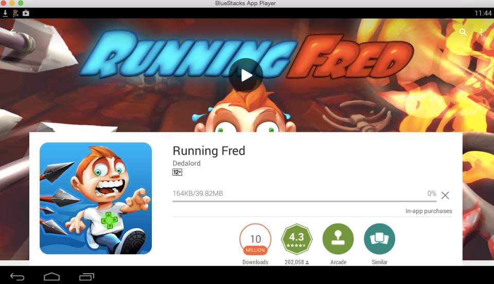 Running Fred for PC 7