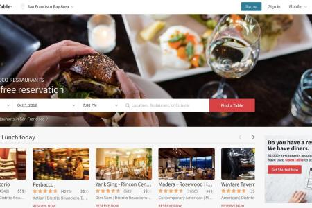 opentable find food near me fast food near me