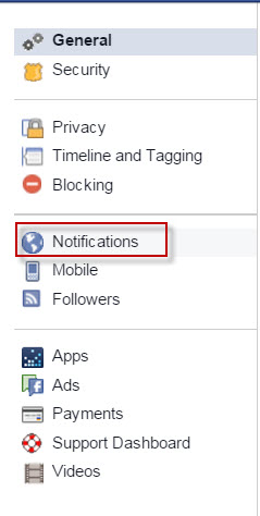 how to turn off notifications for all facebook chats