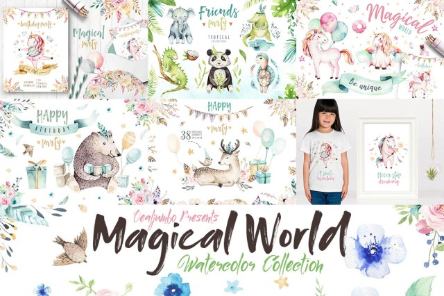 MagicalWorldWatercolorCollection