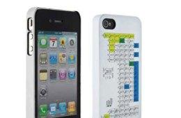 Periodic Table iPhone case closeup