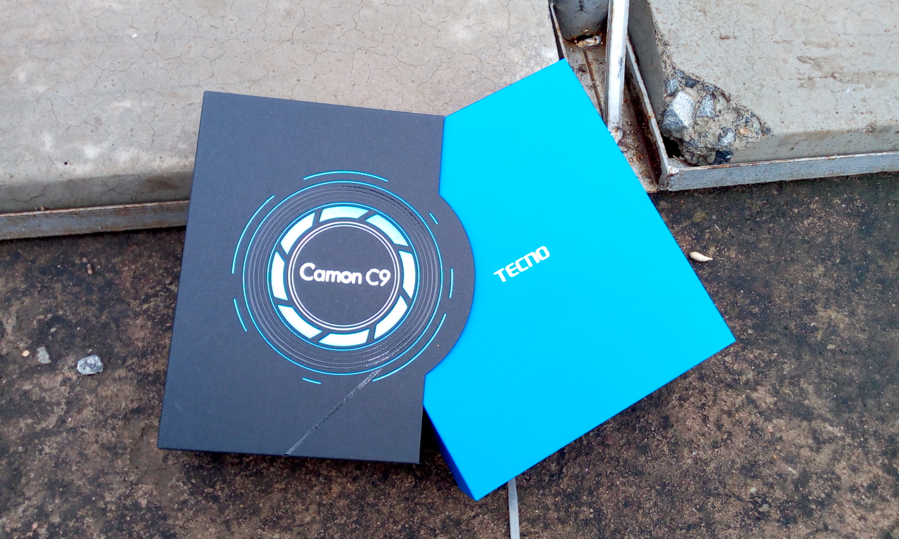 Tecno Camon C9 Unboxing and first impressions