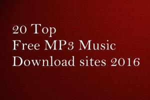 20 Top Free MP3 Music Download sites 2016