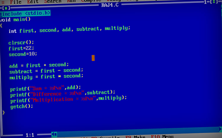 A Simple C Program For Mathematical Calculation