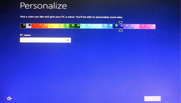 personalise windows 8.1 color How to Install Windows 8.1   Instructions with Screenshots