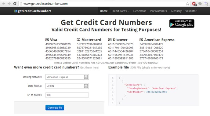 generate-credit-card-numbers-getcreditcardnumbers
