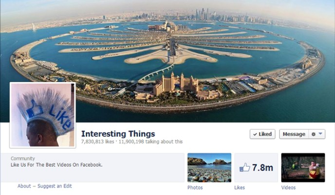 interesting things facebook page Top 10 Popular Pages to Follow on Facebook