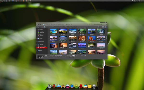 Dust Theme for Win7 x64 Beta by giannisgx89 20 Best Windows 7 Themes Collection for your Desktop   February 2014