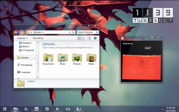 seven and half windows 7 themes 20 Best Windows 7 Themes Collection for your Desktop   February 2014