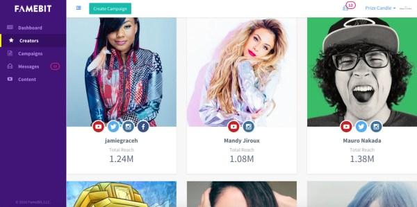 画像2: 米Googleは2016年10月11日、YouTubeマーケティングプラットフォーム「FameBit」の買収を発表した。 「FameBit」は、YouTubeクリエーターとブランドがスポンサー契約を結んだりペイド広告を共 [...] techwave.jp