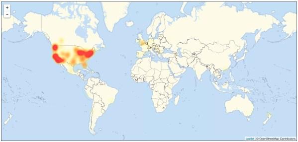 画像2: アメリカの主要なウェブサイトが現地時間の2016年10月21日金曜日未明から数時間に渡りアクセス不能状態に陥った。米報道や各種調査サービスが伝えている。 攻撃はDDoS(Denial of Service attack) [...] techwave.jp