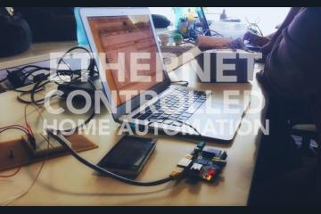 Ethernet Controlled Home Automation Project