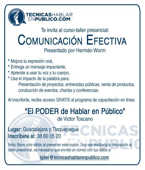 Curso Comunicacion Efectiva - Curso para hablar en publico