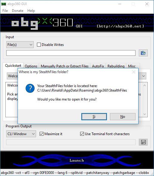 Impostare abgx 360 per avere giochi perfetti per xbox 360 tecnouser - Creare finestra popup ...