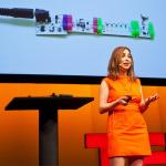 Ayah Bdeir: Building blocks that blink, beep and teach