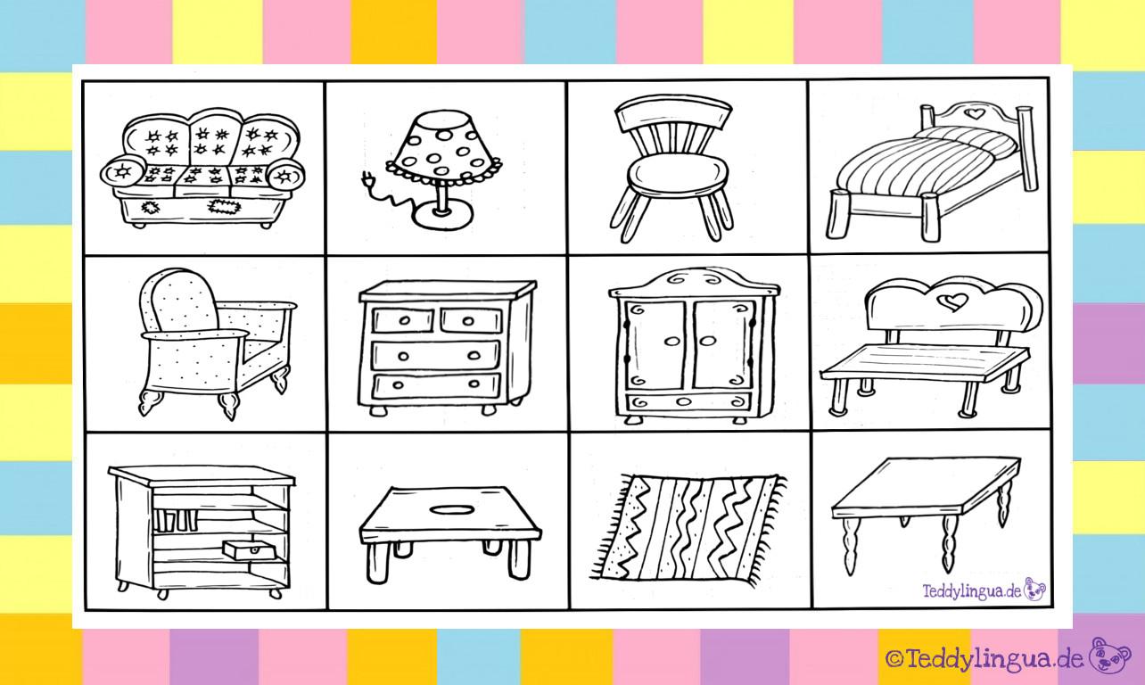 Möbel  Teddylingua