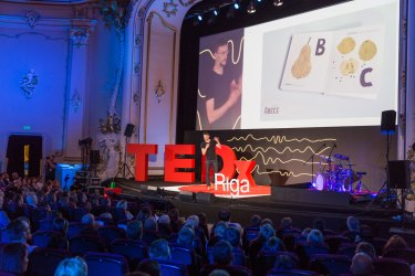 Can a spade teach something to an iPhone? Miķelis Baštiks at TEDxRiga