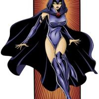 Raven has gotten herself a new costume, which reveals just enough of her seductive body.