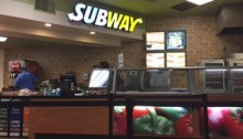American University's Subway restaurant offers shortened hours this summer. Photo by Geena Provenzano.