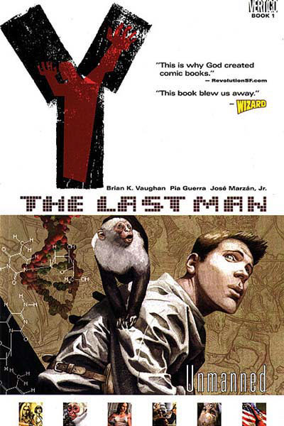 Cover til Y - the Last Man