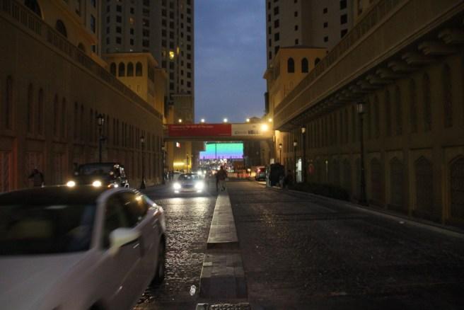 Auf den Straßen von Dubai