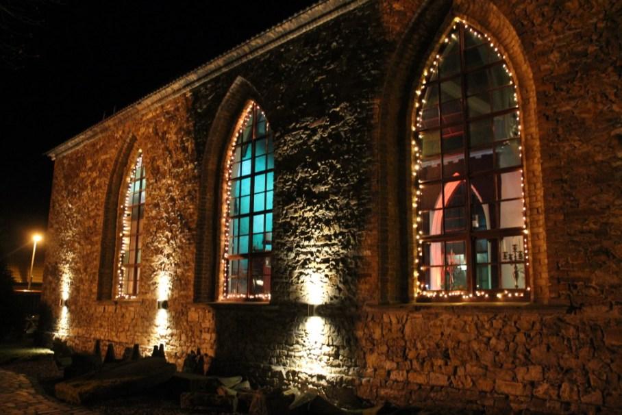 die kirche nacht außen