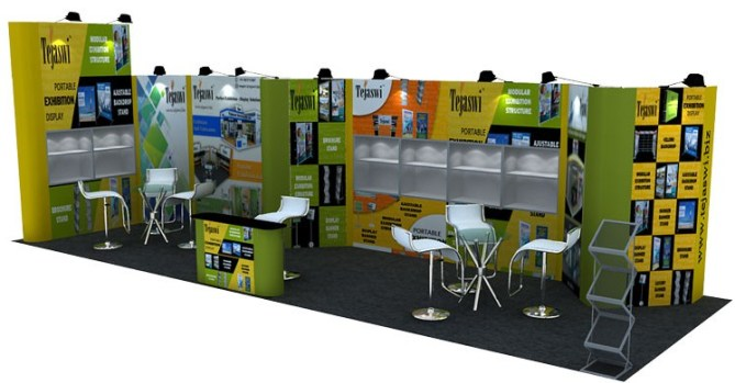 Tejaswi Exhibition Stall : Tejaswi services pvt ltd exhibition stall designer