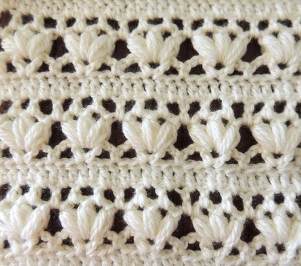 Crochet puntos tejiendo de corazon for Cosas de ganchillo faciles