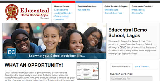 EduCentral: Education Management Portal For Pre-Tertiary Schools