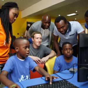 Mark Zuckerberg in Yaba Lagos for Facebook Developer Workshop