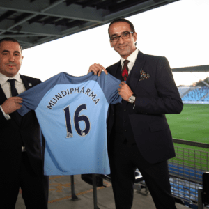Manchester City looking for more revenue signs Mundipharma as Health Partner