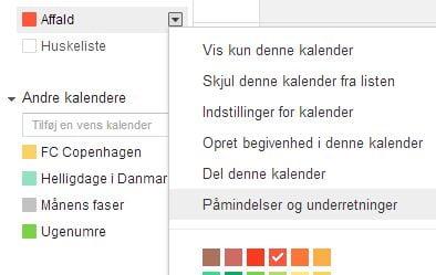 Smarte kalenderfunktioner til Gmail