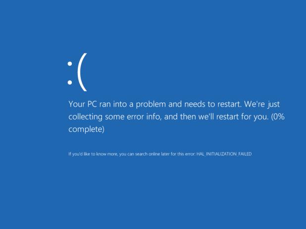 BSoD in Windows 8