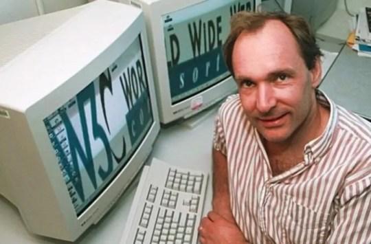 Sir Tim Berners-Le aliyekuja na tovuti ya kwanza duniani