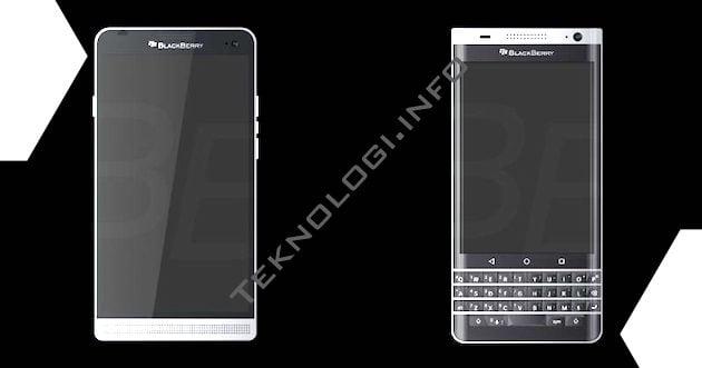 Ini Bocoran Spesifikasi BlackBerry Hamburg yang ber-OS Android
