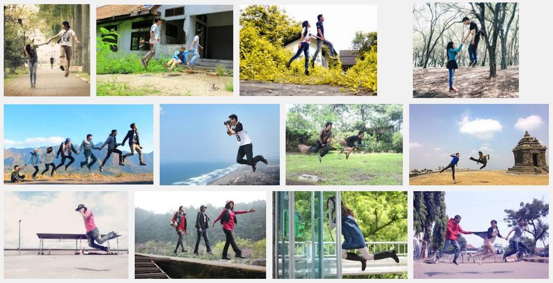 Tips Seru Bikin Foto Melayang alias Levitasi