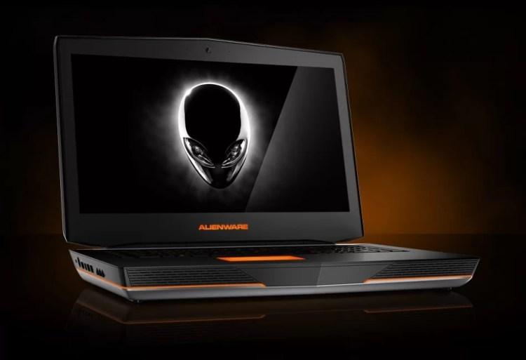 komputer riba Alienware spesifikasi