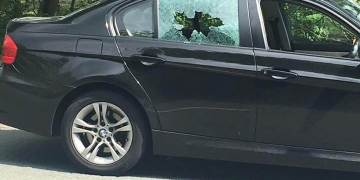 Vehicle Shot at in Rotherham